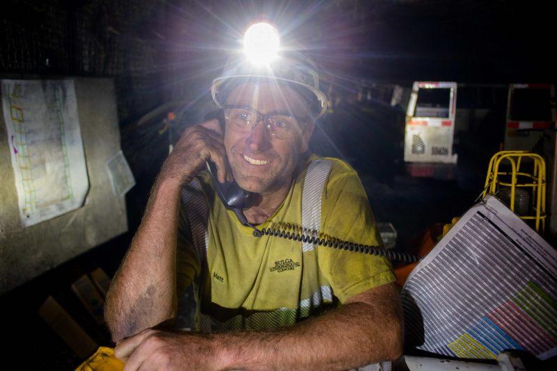 Underground Mining Photographer NSW