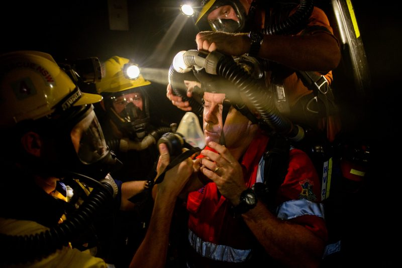 NSW Mines Rescue Photography