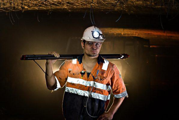 Underground Mining Photography