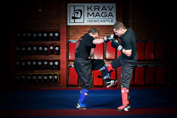 Portrait of local Krav Maga Instructors in Newcastle