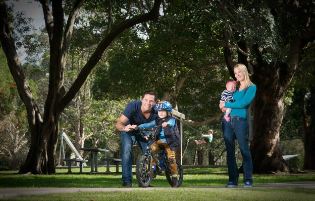 Family Portrait Photographer in Newcastle